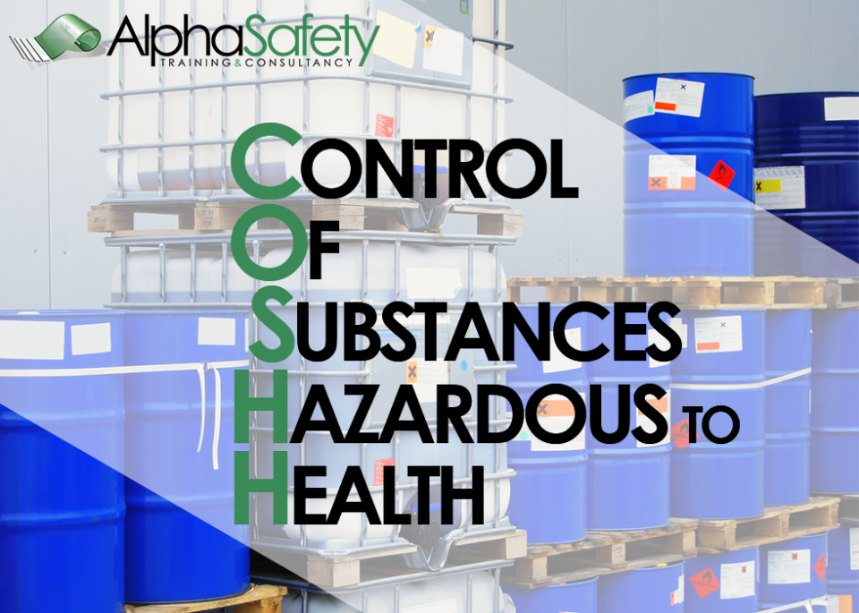 COSHH - Control of Substances Hazardous to Health