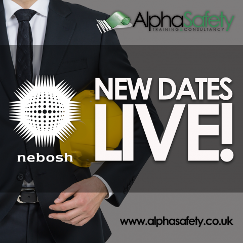 New NEBOSH Dates Published! image